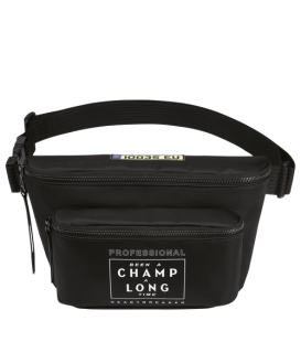 BEEN A CHAMP A LONG TIME POUCH BAG BLACK