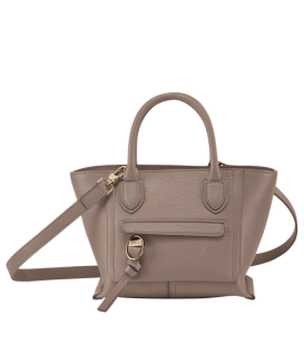 MAILBOX TOP HANDLE BAG S TAUPE