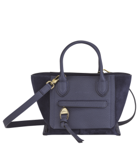 MAILBOX SOFT TOP HANDLE BAG S NAVY