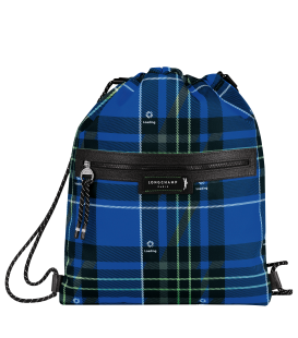 GREEN DISTRICT PRINTED BACKPACK BLUE