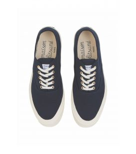 CANVAS LACED SNEAKER NAVY