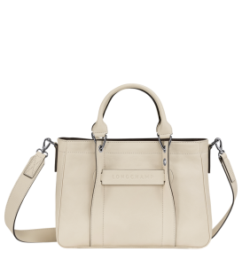 LONGCHAMP 3D TOP HANDLE BAG S IVORY