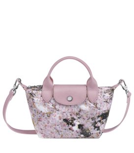 LE PLIAGE BOUQUET TOP HANDLE BAG XS PINK