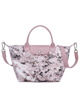 LE PLIAGE BOUQUET TOP HANDLE BAG S PINK