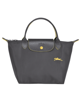 LE PLIAGE CLUB TOP HANDLE BAG S GUN METAL