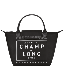 BEEN A CHAMP A LONG TIME TOP HANDLE BAG S BLACK