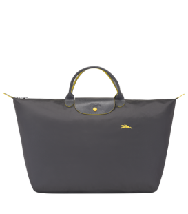 LE PLIAGE CLUB TRAVEL BAG L GUN METAL