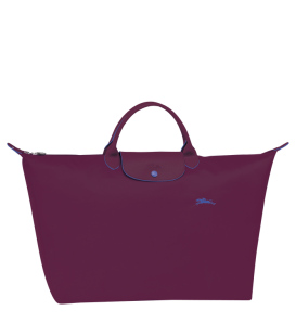 LE PLIAGE CLUB TRAVEL BAG L PLUM