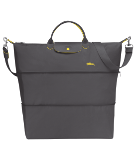 LE PLIAGE CLUB TRAVEL BAG GUN METAL