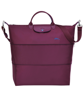 LE PLIAGE CLUB TRAVEL BAG PLUM