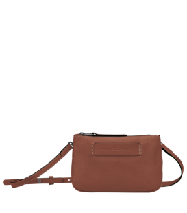 LONGCHAMP 3D CROSSBODY BAG COGNAC