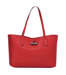 ROSEAU ESSENTIAL SHOULDER BAG M RED