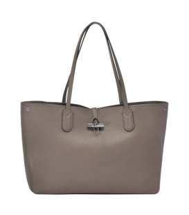 ROSEAU ESSENTIAL SHOULDER BAG L GREY