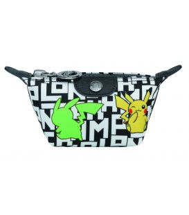 LE PLIAGE COLLECTION POKEMON COIN PURSE BLACK/WHITE