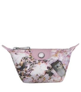 LE PLIAGE BOUQUET COIN PURSE PINK